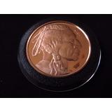 Moneda Onza De Cobre Indio Liberty #4
