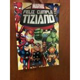 Cartel Bienvenida Poster Personalizado Iron Man Capitan Amer