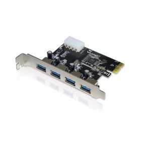 Placa Pci-e Usb 3.0 5gbps Com 4 Portas