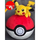 Pikachu Pokebola Peluche Pokemon. Nuevo Y Pocas Unidades