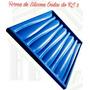 Forma De Silicone P/ Placa Gesso Cimento Modelo Ondas Rj 2