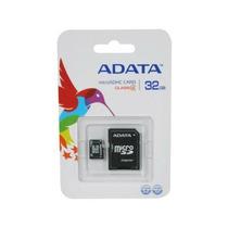 Memoria Micro Sd 32gb Class 4 C/ AdapAdata Me-ada-32gbmsd
