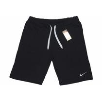 Shorts Moleton Nike Masculina Bermuda Nike Academia Esporte