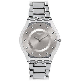 Swatch Breeze Mujeres Del Resorte Del Reloj - Gris