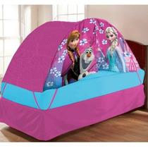 Tienda De Casa Campaña Disney Frozen Cama Ind Niña Con Luz