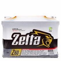 Bateria Zetta 60ah Fabricado Por Moura- Frete Grátis Sp*