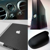 Adesivo Fibra De Carbono Moldável Envelopamento 50x 50cm