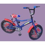 Bicicleta Hombre Araña Con Tazas - Rodado 14