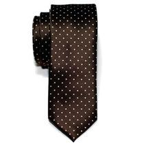 Corbatas Retreez Pin Dots Tejido Microfibra Flaco Corbata D