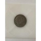 Moneda De 10 Centavos De Colombia 1956. Cacique Calarca