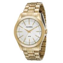 Relógio Mondaine Feminino Dourado 78662lpmvda1