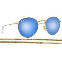 Ray Ban John Lennon Espejado Azul Polarizado Rb3025 112/4l