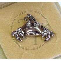 Collar Cangrejo En Titanio 18k Morellato Diamante 3 Pts
