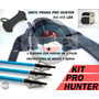 Arco Recurvo Prana Pro Hunter 3 Flechas Punta Caza Protecció