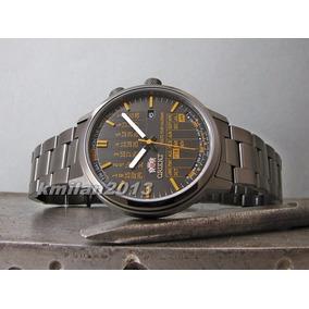 Reloj Orient Multi Año Calendario Acero Hombres Automáticos