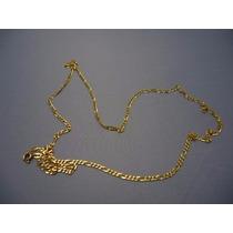 Cordão Ouro Maciço 18k-750 Masculina 60cm Com Garantia