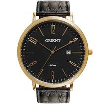 Relógio Orient Masculino Pulseira De Couro Mgsc1006