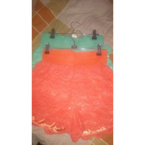 Shorts En Blonda Para Damas