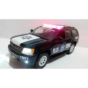 Chevrolet Tahoe Policia Federal Cns Con Luz Esc. 1:24