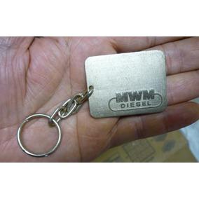 Chaveiro Metal Antigo Mwm Motores Diesel