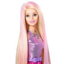 Barbie Estilo Y Color De Cabello Cfn47 - Rosa