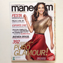 Revista Manequim Débora Nascimento Ano 2012 N°639