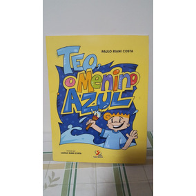 Livro Teo, O Menino Azul - Editora Salesiana