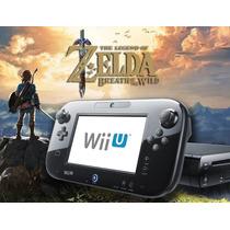Nintendo Wii U Destravado Desbloqueado + Zelda + Jogos