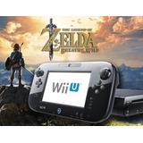 Nintendo Wii U Desbloqueado + Zelda Botw + Hd Externo