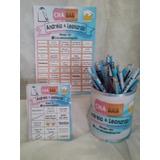 Bingo Chá De Cozinha + Lápis Personalizado