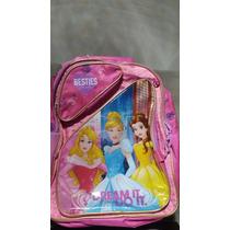 Kit Mochila Princesas Disney