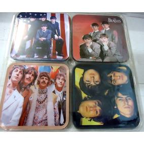 The Beatles Memorabilia -4 Descansos P/ Copos Novos Lacrados