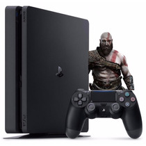 Playstation 4 Slim 500gb Ps4 Lacrado Americano 2015a Barato