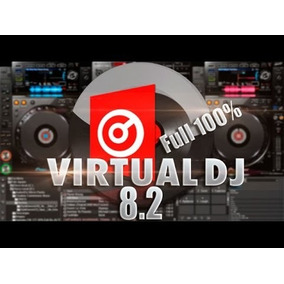 Virtual Dj 8.2+mobile+ Brinde Logo E Controladoras Liberadas