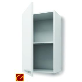 Alacena 1 Puertas 50cm Itar Canto Alum Blanco/roble La Plata