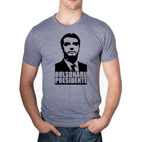 Camisa Blusa Jair Messias Bolsonaro Presidente Amarela Linda