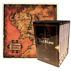 Estuche Tolkien 6 Vols. + Mapa; J. R. R. Tolkien