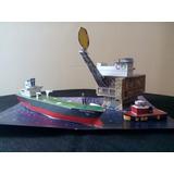 Maquetas Escolares Extracción Marítima Petroleo Imprimible