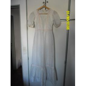 Vestido De 15 De Encaje Blanco (etam) Muy Buen Estado!!!