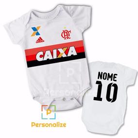Body Bori Bore Infantil Personalizado Do Flamengo Com Nome!