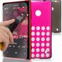 2 Capas Case Nokia Lumia 520 + 2 Películas Vidro Temperado