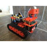 Robot Oruga, Chasis 4 Motores,raspberry Camara