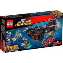 Brinquedo Lego Marvel Ataque Submarino Caveira Ferro 76048