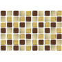 Pastilhas Adesivas Resinadas - 30 X 20cm - 3 Cores
