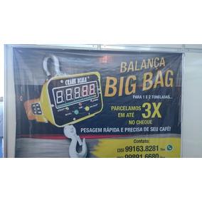 Balança De Pesar Big Bag De Café Milho Soja Adubo 2toneladas
