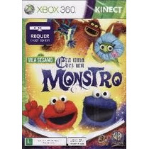 Vila Sesamo Era Uma Vez Um Monstro Xbox Novo Lacrado