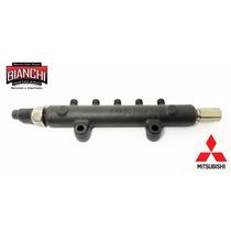 Flauta De Bico Injetor Mitsubishi L200 Triton 3,2 Com Sensor