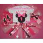 Fantasia Minnie Tutu Personalizada Com Faixa Ou Arco.