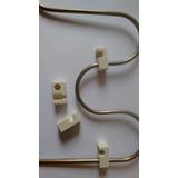 4 Isoladores De Porcelana P/ Forno Eletrico E Chocadera