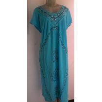 Vestido Indu Largo Rayon Brenda Casual Playeros Prenatal